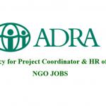 Project Coordinator | ADRA | ngo jobs