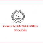 Sub-District Officer | HURENDEC | ngo jobs