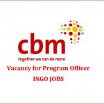 Program Officer | CBM | ingo jobs