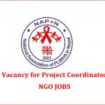 Project Coordinator | NAP+N | ngo jobs