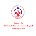 Vacancy for Various Medical Position   BPKMCH