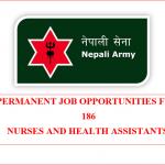 Staff Nurse and HA Vacancy | Nepal Army 2021