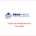 Nursing Instructor | AMDA-Nepal | ngo jobs