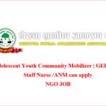 Adolescent Youth Community Mobilizer | GERUWA